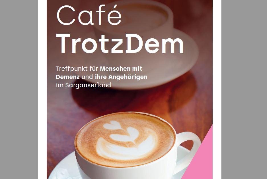 Flyer Café Trotzdem Restaurant Kiesfang